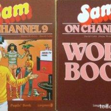 Libros: SAM ON CHANEL 9 + CUADERNO DE TRABAJO. NUEVO. Lote 240887290