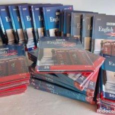 Libros: EL CURSO DE INGLÉS DEL SIGLO XXI / BBC ENGLISH PLUS / 30 TOMOS ( MUCHOS PRECINTADOS ) OCASIÓN !!. Lote 246097185