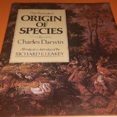 Libros: LIBRO THE ILLUSTRATED ORIGIN OF SPECIES EN INGLES AÑO 1979. Lote 247604505