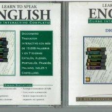 Libros: LEARN TO SPEAK ENGLISH. CURSO DE INGLÉS CON 7 CDS. Lote 252968185