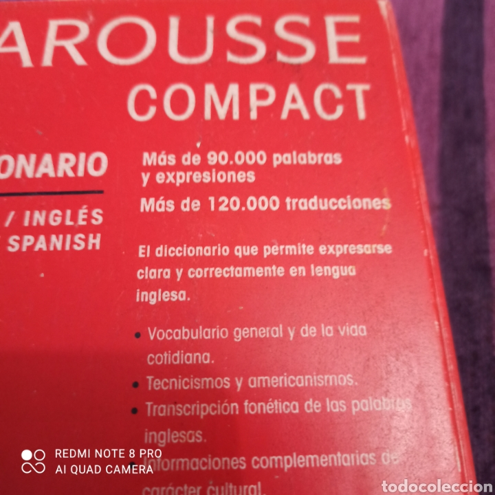 Libros: LAROUSSE ESPAÑOL/INGLÉS.INGLES/ESPAÑOL. - Foto 4 - 253741155