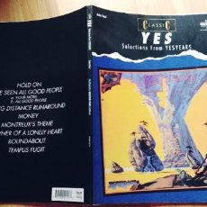 Libros: CLASSIC YES - SELECCIONES DE YESYEARS: AUTHENTIC GUITAR TAB (AUTHENTIC GUITAR-TAB EDITIONS) (INGLÉS). Lote 254261655