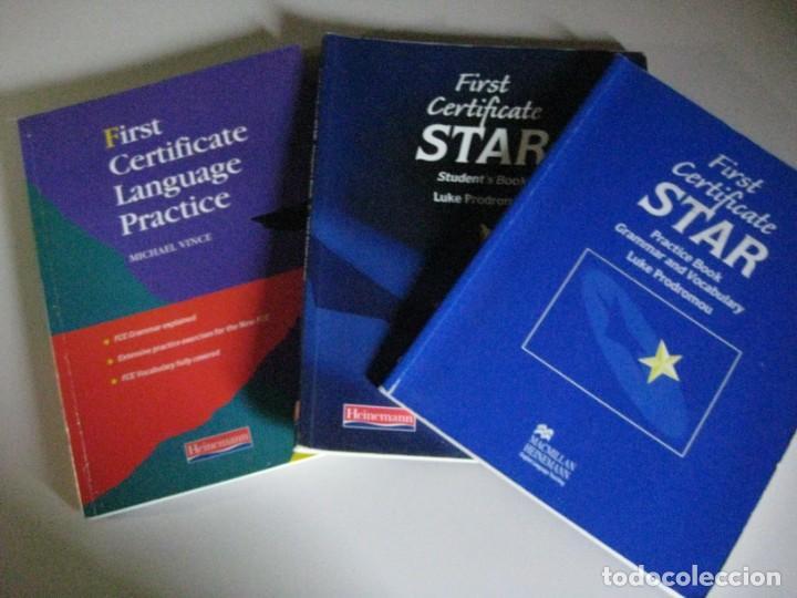 TRES LIBROS INGLES CERTIFICATE PRACTICE **HEINEMANN ** (Libros Nuevos - Idiomas - Inglés)