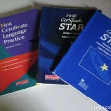Libros: TRES LIBROS INGLES CERTIFICATE PRACTICE **HEINEMANN **. Lote 254584745