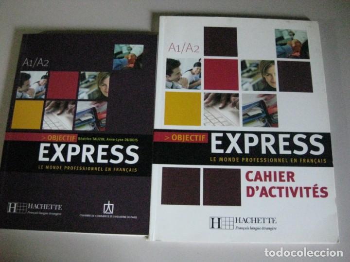 2 LIBROS A1/A2 *LE MONDE PROFESSIONNEL EN FRANÇAIS EXPRESS * (Libros Nuevos - Idiomas - Inglés)