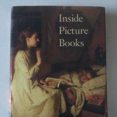 Libros: INSIDE PICTURE BOOKS. AUTOR: ELLEN HANDLER SPITZ. PRÓLOGO DE ROBERT COLES. EDICIÓN EN INGLÉS. Lote 261698705