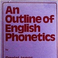 Libros: OUTLINE OF ENGLISH PHONETICS DANIEL JONES. Lote 271976718