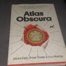 Libros: ATLAS OBSCURA EN INGLES AÑO 2016. Lote 272144333