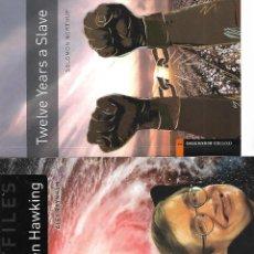 Libros: STEPHEN HAWKING - TWELVE YEARS A SLAVE. Lote 274196768