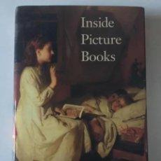 Libros: INSIDE PICTURE BOOKS. AUTOR: ELLEN HANDLER SPITZ. PRÓLOGO DE ROBERT COLES. EDICIÓN EN INGLÉS. Lote 276417918