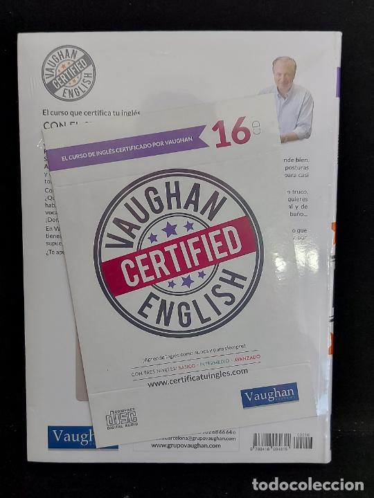 Libros: VAUGHAN CERTIFIED ENGLISH / 16 / LIBRO + CD / PRECINTADO. - Foto 2 - 277240528