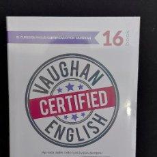 Libros: VAUGHAN CERTIFIED ENGLISH / 16 / LIBRO + CD / PRECINTADO.. Lote 277240528