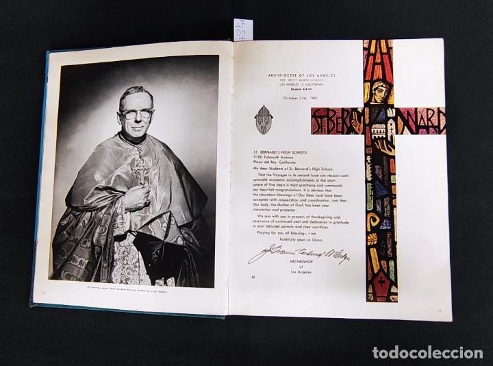 Libros: VOYAGER 1962 - ANUARIO ST. BERNARD HIGH SCHOOL - PLAYA DEL REY - - Foto 6 - 286240378