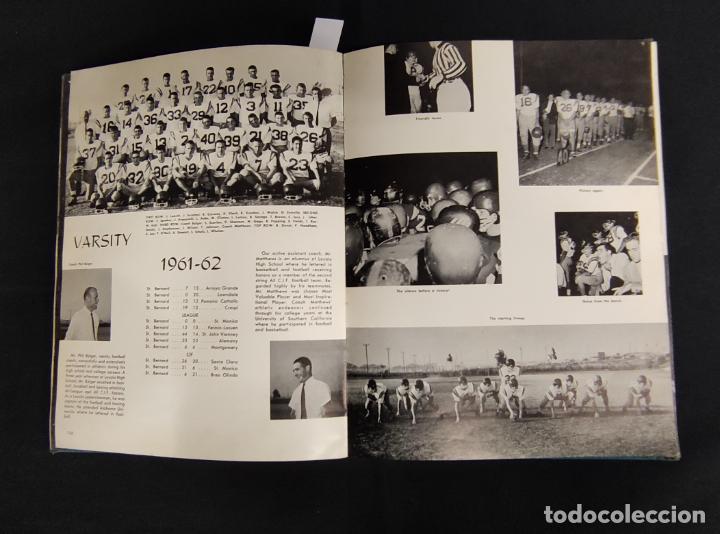 Libros: VOYAGER 1962 - ANUARIO ST. BERNARD HIGH SCHOOL - PLAYA DEL REY - - Foto 23 - 286240378