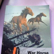 Libros: WAR HORSE. Lote 287932183
