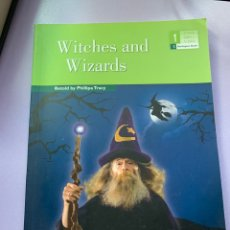 Libros: WITCHES AND WIZARDS. Lote 287932383