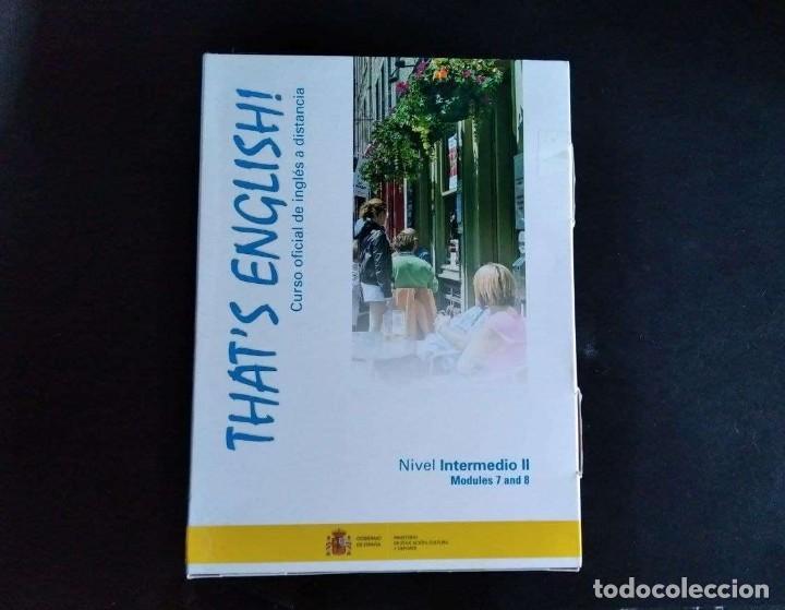 Libros: Thats English! Curso Intermedio II. Mod. 7 y 8 con videos y audio - Foto 2 - 288132033