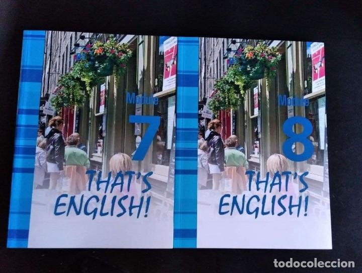 Libros: Thats English! Curso Intermedio II. Mod. 7 y 8 con videos y audio - Foto 3 - 288132033