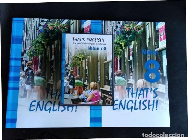 Libros: Thats English! Curso Intermedio II. Mod. 7 y 8 con videos y audio - Foto 4 - 288132033