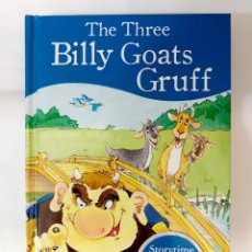 Libros: LIBRO THE THREE BILLY GOATS GRUFF, CONTIENE CD. Lote 290059813