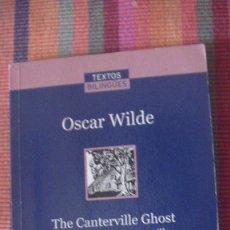 Libros: THE CANTERVILLE GHOST. EL FANTASMA DE CANTERVILLE ( EDICION BILINGUE OSCAR WILDE.LA VANGUARDIA 2007. Lote 292152458