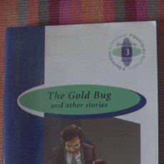 Libros: THE GOLD BUG AND OTHER STORIES. EDGAR ALLAN POE. BURLINGTON BOOKS, ESPAÑA, 2005. Lote 293806173