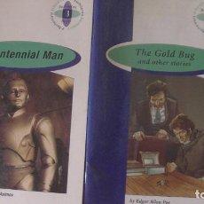 Libros: ISSAC ASIMOV / EDGAR ALLAN POE. BURLINGTON BOOKS, ESPAÑA, 2004-5 (2LIBROS). Lote 293807223