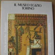 Livres: IL MUSEO EGIZIO. TORINO. GRUIDE PRATICHE. EDICIÓN EN ITALIANO. (MUSEOS DE EUROPA) . Lote 14048885