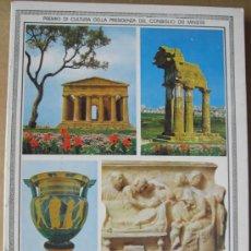 Livres: ITINERARIO ARCHEOLOGICO. AGRIGENTO ( SICILIA ). LA VALLE DEI TEMPLI. IL MUSEO NAZIONALE. Lote 14049012