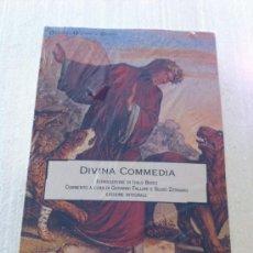 Livres: LA DIVINA COMEDIA. LA DIVINA COMMEDIA. DANTE ORIGINAL ITALIANO. Lote 35581620