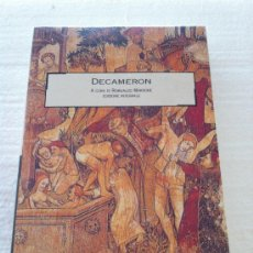 Libros: DECAMERON BOCACCIO. Lote 35581733