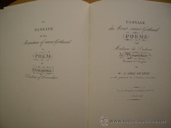 Libros: PASSAGGIO DEL SAN GOTTARDO-LENGUAJE ITALIANO-TAPAS DURAS-MEDIDAS,32x24 Cm. CONTIENE,14 Ó 15 LAMINAS - Foto 7 - 35758118