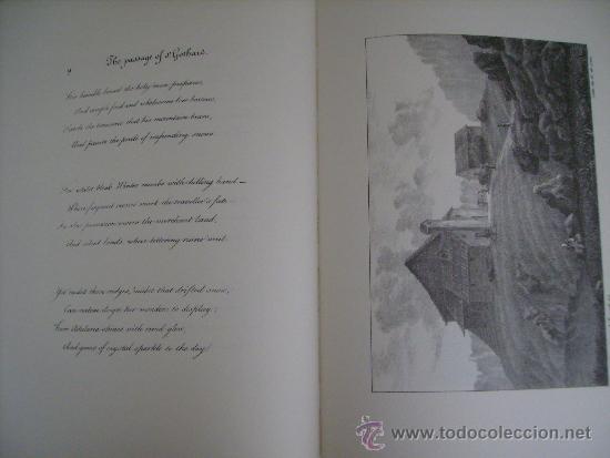 Libros: PASSAGGIO DEL SAN GOTTARDO-LENGUAJE ITALIANO-TAPAS DURAS-MEDIDAS,32x24 Cm. CONTIENE,14 Ó 15 LAMINAS - Foto 8 - 35758118