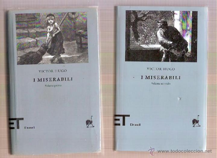I MISERABILI VOLUME PRIMO SECONDO VICTOR HUGO EINAUDI 2006 (Libros Nuevos - Idiomas - Italiano)