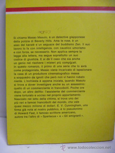 Libros: Il Giallo Mondadori - Un Penny Vermiglio per Masao Masuto - nº 1562 - año 1979 (en italiano) - Foto 4 - 44827138