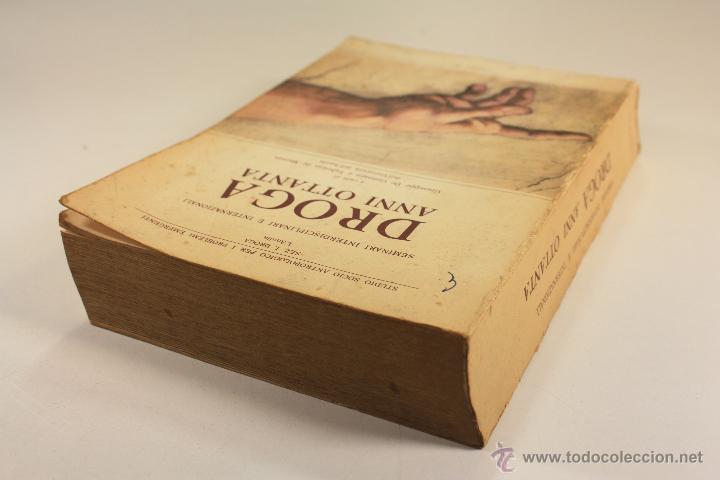 Libros: LIBRO SOBRE ``DROGA ANNI OTTANTA´´ EN ITALIANO (1983) - Foto 6 - 45494106
