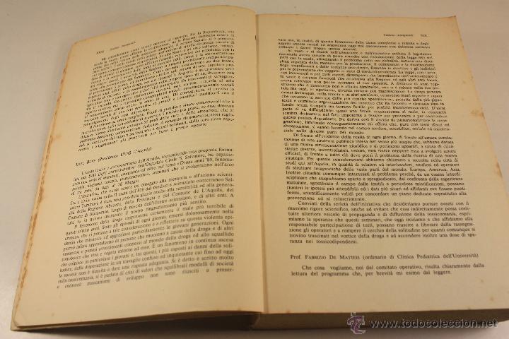 Libros: LIBRO SOBRE ``DROGA ANNI OTTANTA´´ EN ITALIANO (1983) - Foto 11 - 45494106