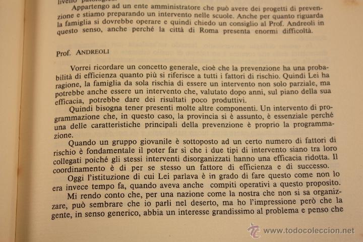 Libros: LIBRO SOBRE ``DROGA ANNI OTTANTA´´ EN ITALIANO (1983) - Foto 15 - 45494106