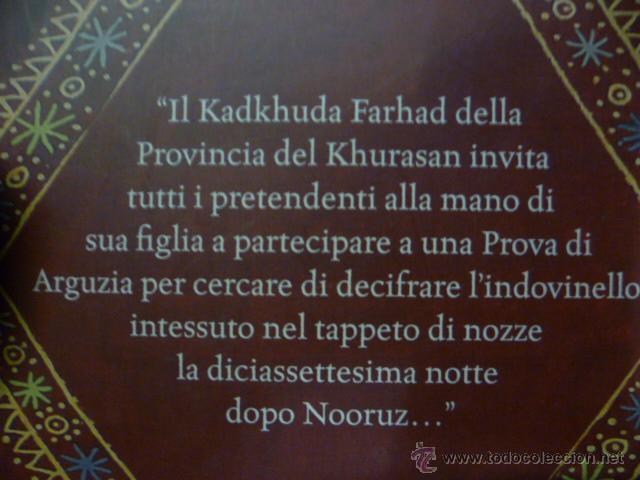 Libros: Anahita e l'enigma del tappeto. Meghan N. Sayres (en italiano) - Foto 5 - 47268680