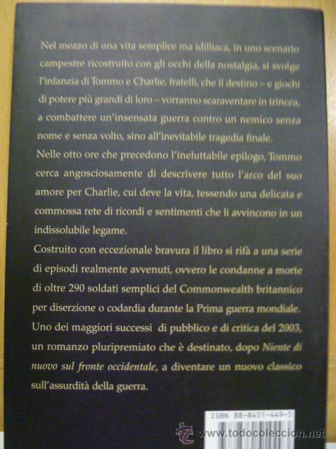 Libros: La Guerra del Soldato Pace - Michael Morpurgo - SALANI - EDITORE - (en italiano) - Foto 5 - 47368029