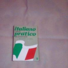 Libros: LIBRO MÉTODO ITALIANO CONVERSACIONAL PRÁCTICA DEL 1981. Lote 61944552