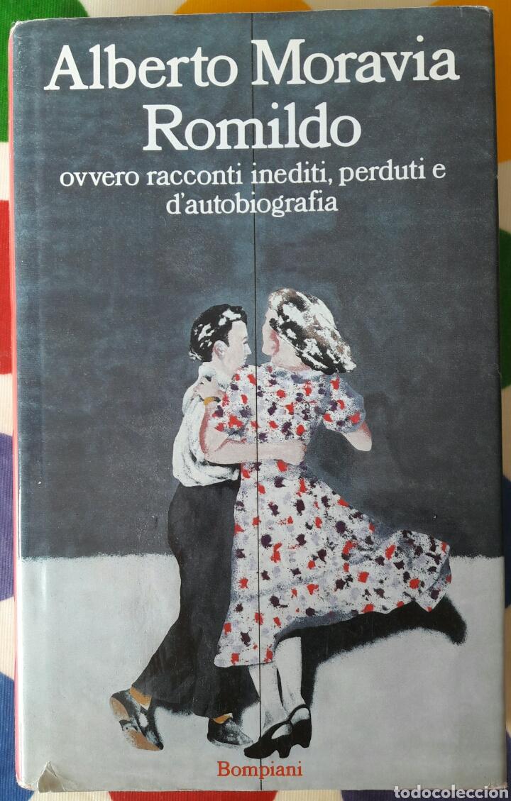 LIBRO ALBERTO MORAVIA ROMILDO (Libros Nuevos - Idiomas - Italiano)