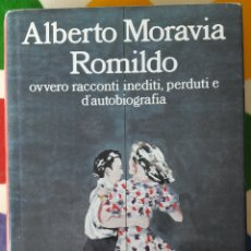 Libros: LIBRO ALBERTO MORAVIA ROMILDO. Lote 127211540