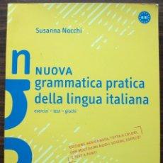 Livres: NUOVA GRAMMATICA PRACTICA DELLA LINGUA ITALIANA. SUSANNA NICCHI.. Lote 132749770