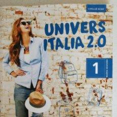 Livres: CURSO ITALIANO, UN LIBRO MÁS DOS CD, UNIVERS ITALIA 2.0.. Lote 172464100
