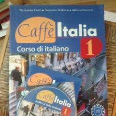 Libros: CAFFÈ ITALIA 1. ITALIANO. LIBRO + LIBRETTO + CD. Lote 184581726