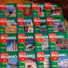 Livres: LAROUSSE- CURSO DE IDIOMA ITALIANO - 49 CASETTES PRECINTADOS,- 48 CD SIN PRECINTOR - AÑOS 90. Lote 193854510