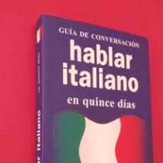 Livres: LIBRO IDIOMA ITALIANO. Lote 198597126