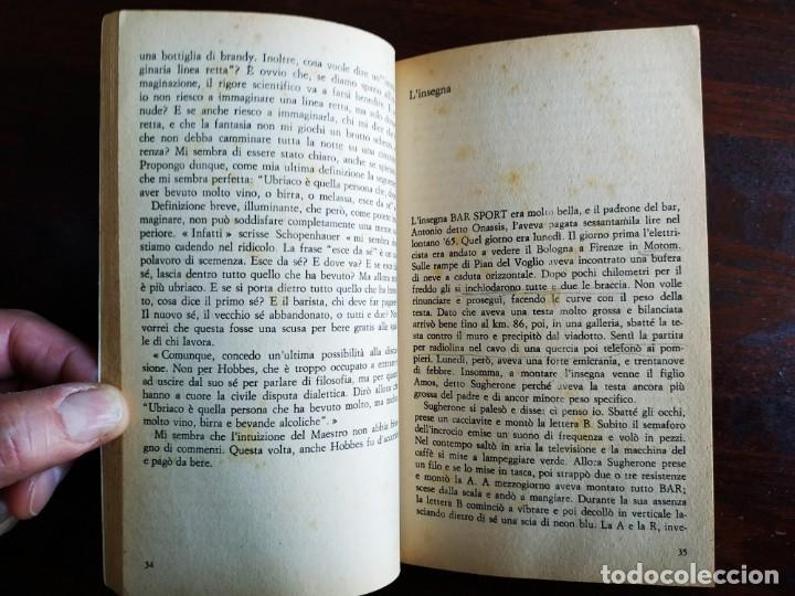 Libros: Libro Bar Sport de Stefano Benni. El Sports Bar es el lugar donde ves la vida pasar. 1190 - Foto 5 - 199045440
