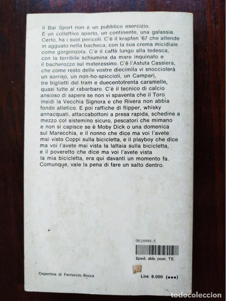 Libros: Libro Bar Sport de Stefano Benni. El Sports Bar es el lugar donde ves la vida pasar. 1190 - Foto 10 - 199045440